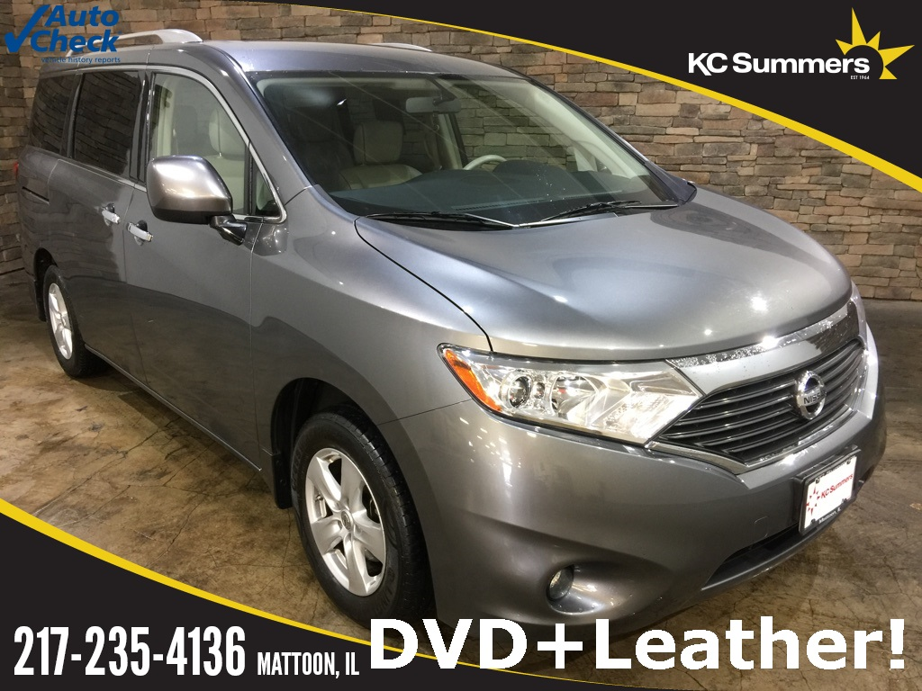 Photo Certified Pre-Owned 2015 Nissan Quest 3.5 SL DVD Leather FWD 4D Passenger Van