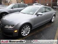 Pre-Owned 2014 Audi A7 For Sale near Pittsburgh, PA   Near Greensburg, McKeesport, & Monroeville, PA   VIN:WAUWGAFC1EN141664