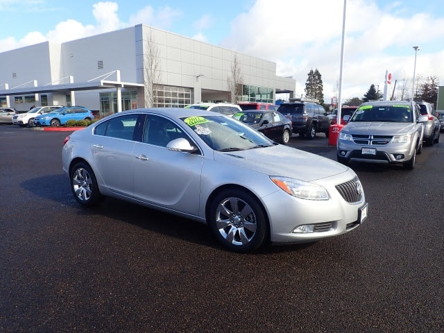 Photo 2012 Buick Regal Turbo - Premium Sedan for sale in Corvallis OR
