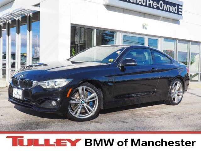 Photo 2014 Certified Used BMW 4 Series Coupe 2dr Cpe 435i RWD Black Sapphire For Sale Manchester NH  Nashua  StockMP2402