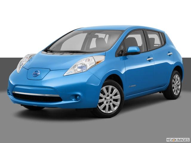 Photo Used 2014 Nissan Leaf For Sale  Redwood City CA