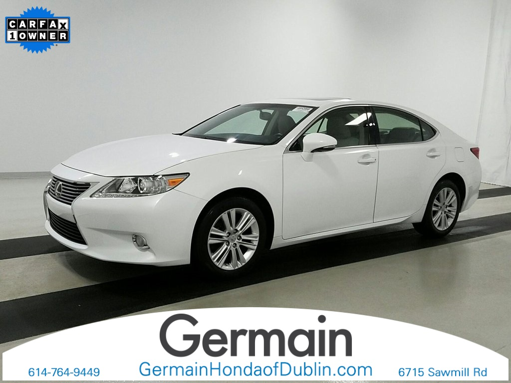 Photo Used 2015 LEXUS ES 350 350 For Sale Dublin OH  Stock F3591