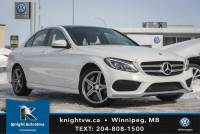 Pre-Owned 2015 Mercedes-Benz C-Class C 300 4MATIC AWD w/ Light Package/AMG/Nav/Backup Cam AWD 4MATIC 4dr Car