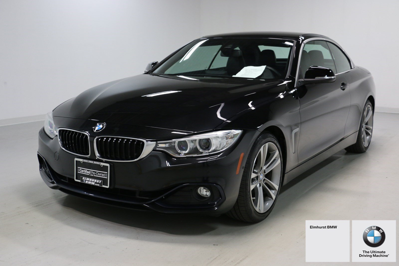 Photo Certified Pre-Owned 2015 BMW 4 Series 428i Convertible With Navigation