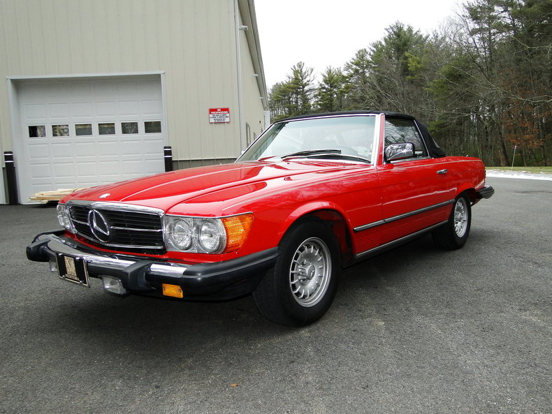 Photo 1985 Mercedes-Benz 380SL 22,500