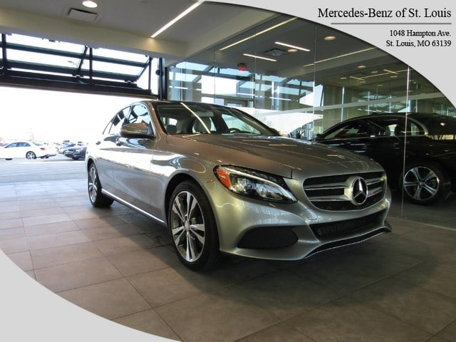 Photo Certified Pre-Owned 2015 Mercedes-Benz C-Class C 300 4MATIC Sedan For Sale St. Louis, MO