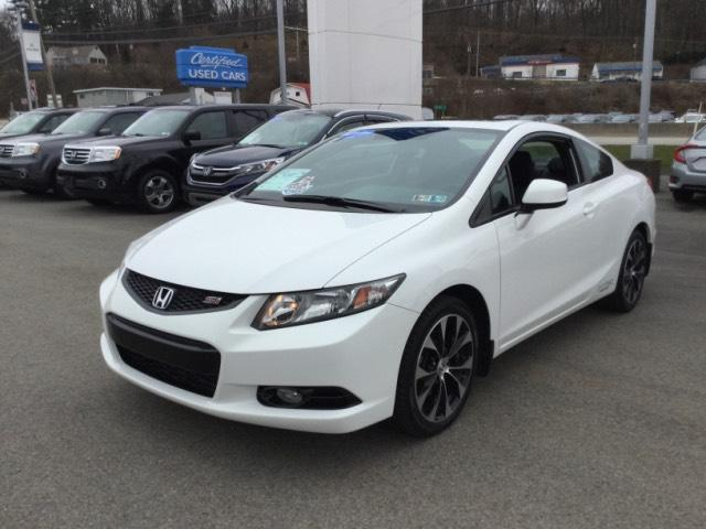 Photo Certified 2013 Honda Civic Coupe Si in Greensburg, PA