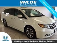 Certified Pre-Owned 2016 Honda Odyssey Touring Elite 4D Passenger Van