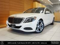 Certified Pre-Owned 2015 Mercedes-Benz S-Class S 550 AWD 4MATIC®