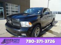 Pre-Owned 2012 Ram 1500 4WD QUADCAB SPORT Leather, Heated Seats, Sunroof, Back-up Cam, Bluetooth, A/C,