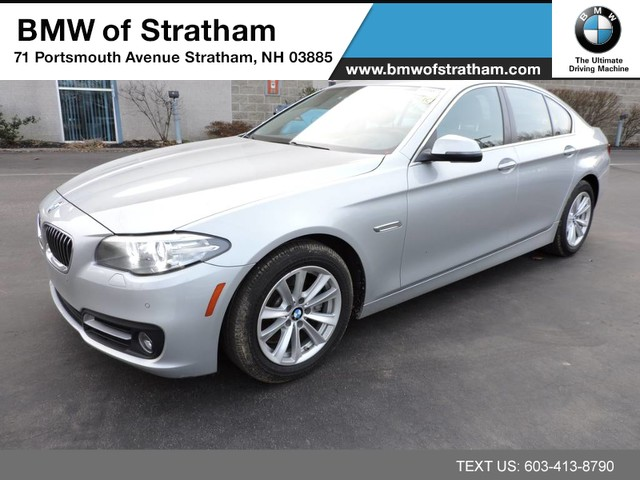 Photo 2015 BMW 5 Series 528i xDrive navigation cold weather premium driver Sedan All-wheel Drive