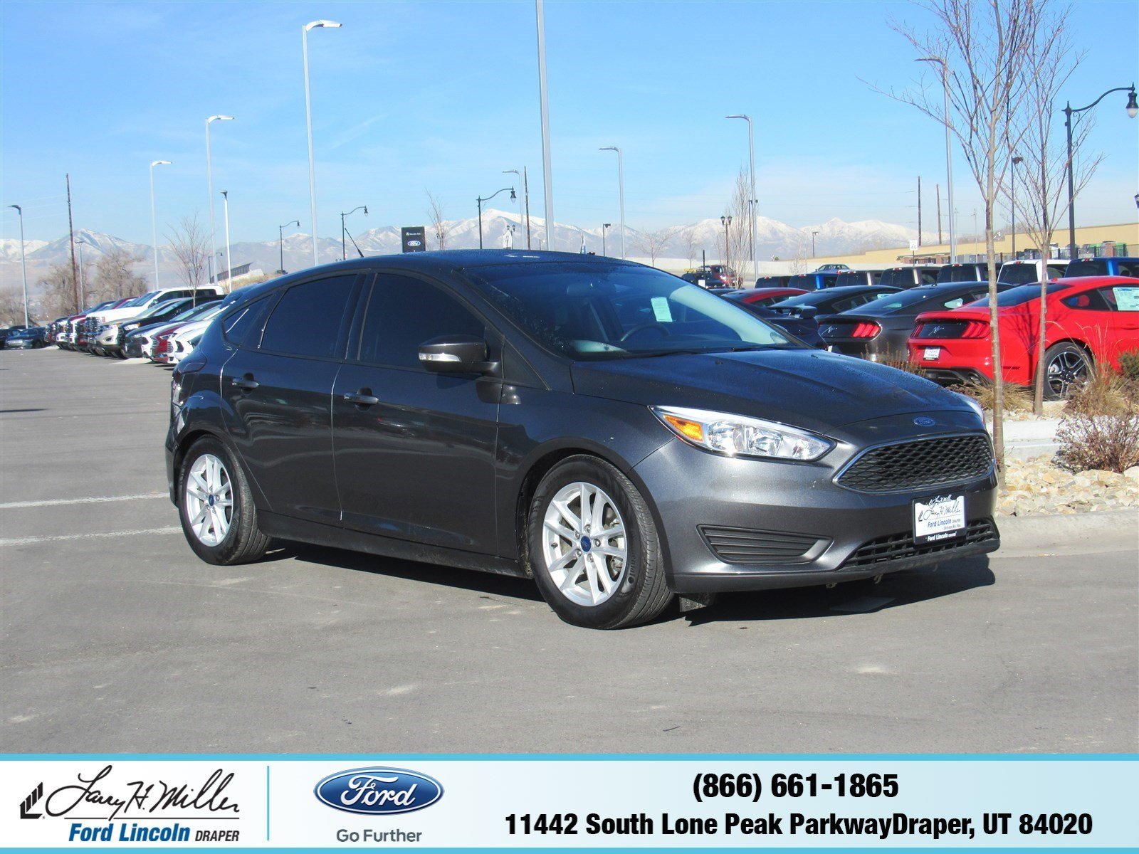 Photo Used 2017 Ford Focus SE SE Hatch in Draper