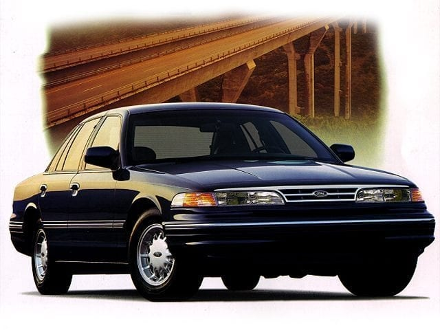 Photo Used 1997 Ford Crown Victoria LX Sedan for sale in Middlebury CT