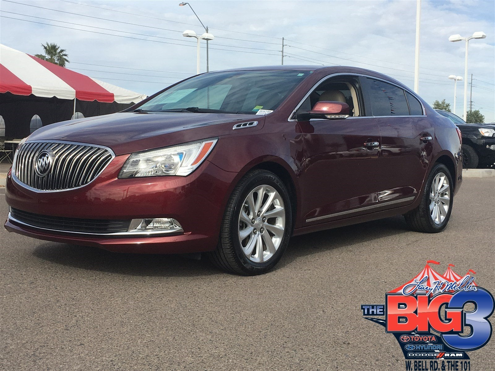 Photo Used 2014 Buick Lacrosse For Sale  Peoria AZ  Call 866 748-4281 on Stock 80474A