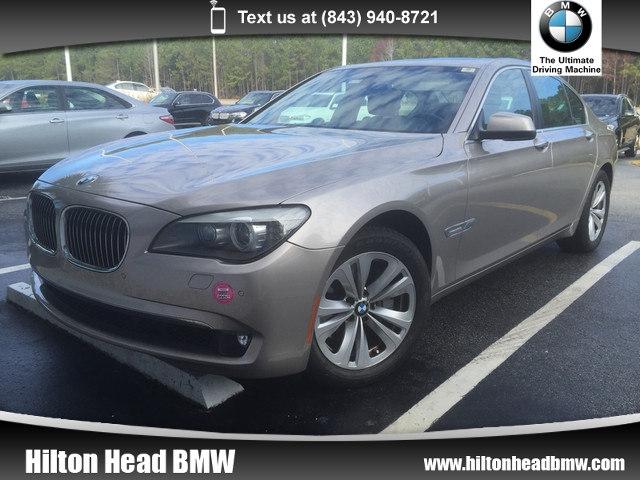 Photo 2012 BMW 7 Series 740i  One Owner  Navigation  Back-up Camera Sedan Rear-wheel Drive