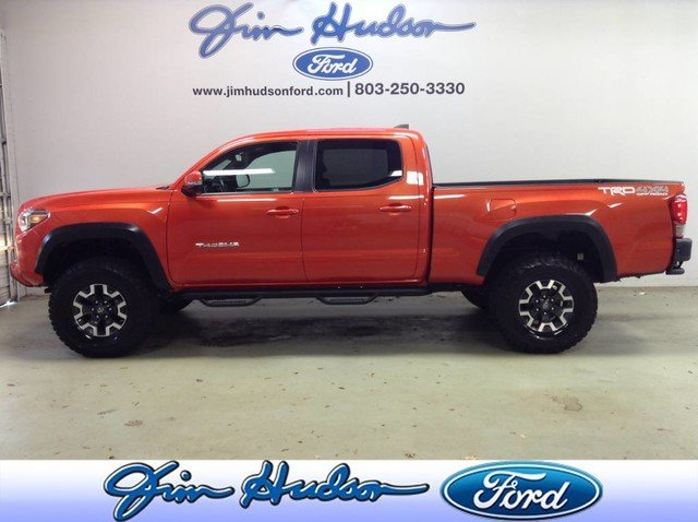 Photo Used 2016 Toyota Tacoma 4WD Double Cab Long Bed V6 Automatic TRD Off Road