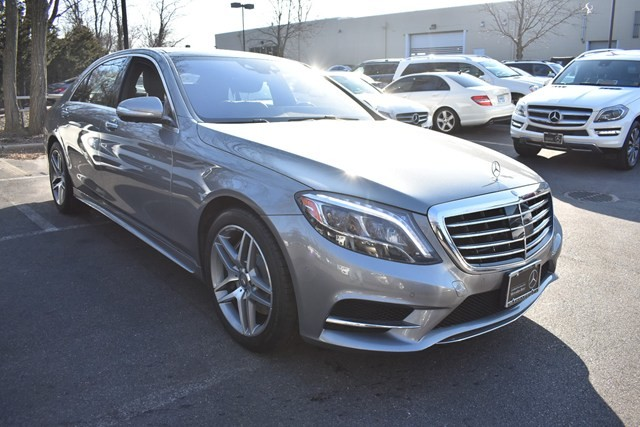 Photo Certified Pre-Owned 2015 Mercedes-Benz S 550 Sport AWD 4MATIC