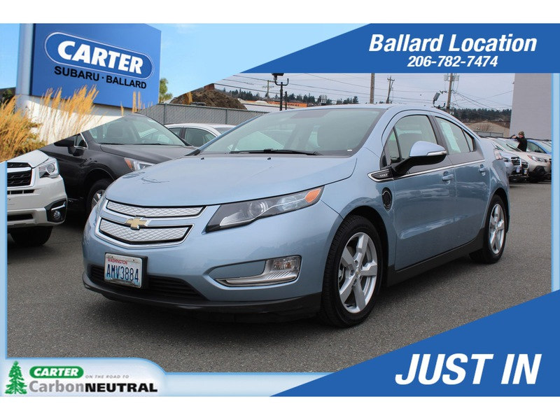 Photo Used 2013 Chevrolet Volt Base for Sale in Seattle, WA