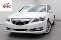 2015 Acura RLX Base w/Technology Package) Sedan Front-wheel drive