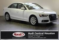 Certified Used 2015 Audi A4 2.0T Premium (Multitronic) Sedan in Houston, TX