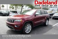 Certified Used 2017 Jeep Grand Cherokee Limited SUV in Miami