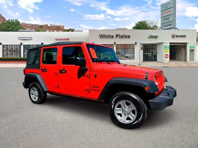 Photo 2015 Jeep Wrangler Unlimited Sport Unlimited Side Steps, Soft T Sport Utility in White Plains, NY