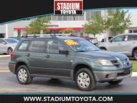 Pre-Owned 2004 Mitsubishi Outlander 4dr LS FWD