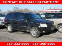 Used 2000 Jeep Grand Cherokee Limited Limited 4WD for Sale in Waterloo IA