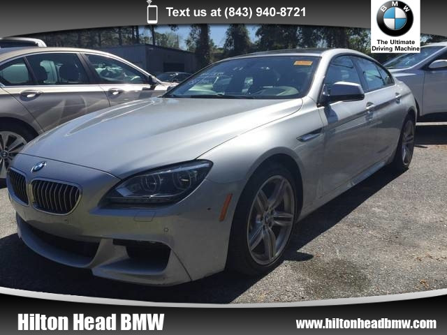 Photo 2015 BMW 6 Series 640i xDrive  CPO Warranty  One Owner  M Sport  Gran Coupe All-wheel Drive