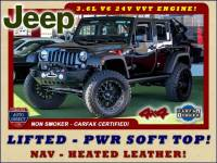 2015 Jeep Wrangler Unlimited Rubicon 4X4 - LIFTED - PWR SOFT TOP!