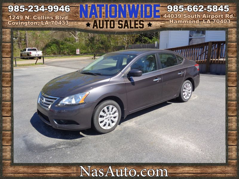 Photo Used 2013 Nissan Sentra S  SALVAGE TITLE
