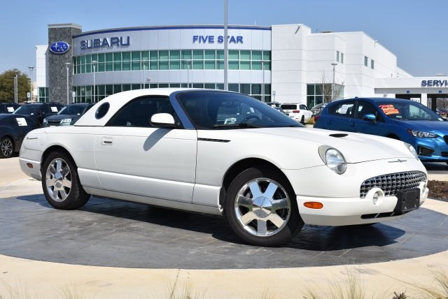 Photo Used 2002 Ford Thunderbird Base Convertible For Sale Grapevine, TX