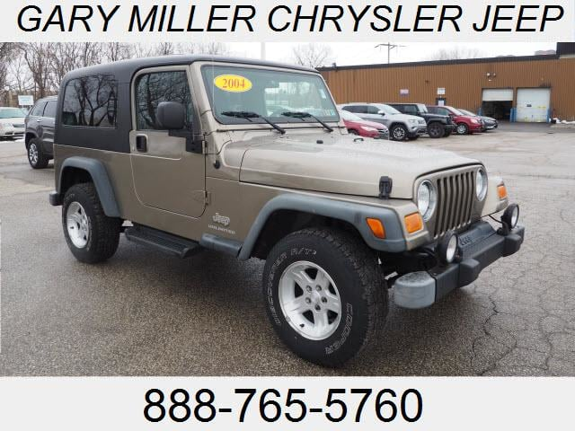 Photo 2004 Jeep Wrangler Sport SUV For Sale in Erie PA
