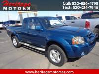 2001 Nissan Frontier SE-V6 King Cab Desert Runner 2WD with Leather