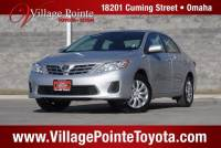 2013 Toyota Corolla LE Sedan FWD for sale in Omaha