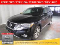Certified Pre-Owned 2014 Nissan Pathfinder Platinum SUV in White Marsh, MD