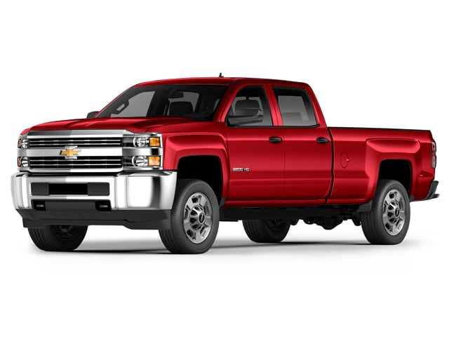 Photo Used 2015 Chevrolet Silverado 2500HD Built After A LT 4WD Crew Cab 153.7 LT for Sale in Portage near Hammond