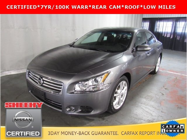 Photo Certified Pre-Owned 2014 Nissan Maxima 3.5 SV Sedan in White Marsh, MD