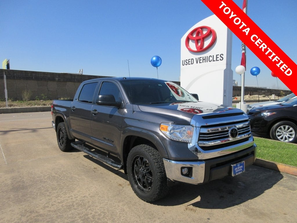 Photo Certified 2016 Toyota Tundra SR5 Crewmax TSS OFF Road Truck RWD For Sale
