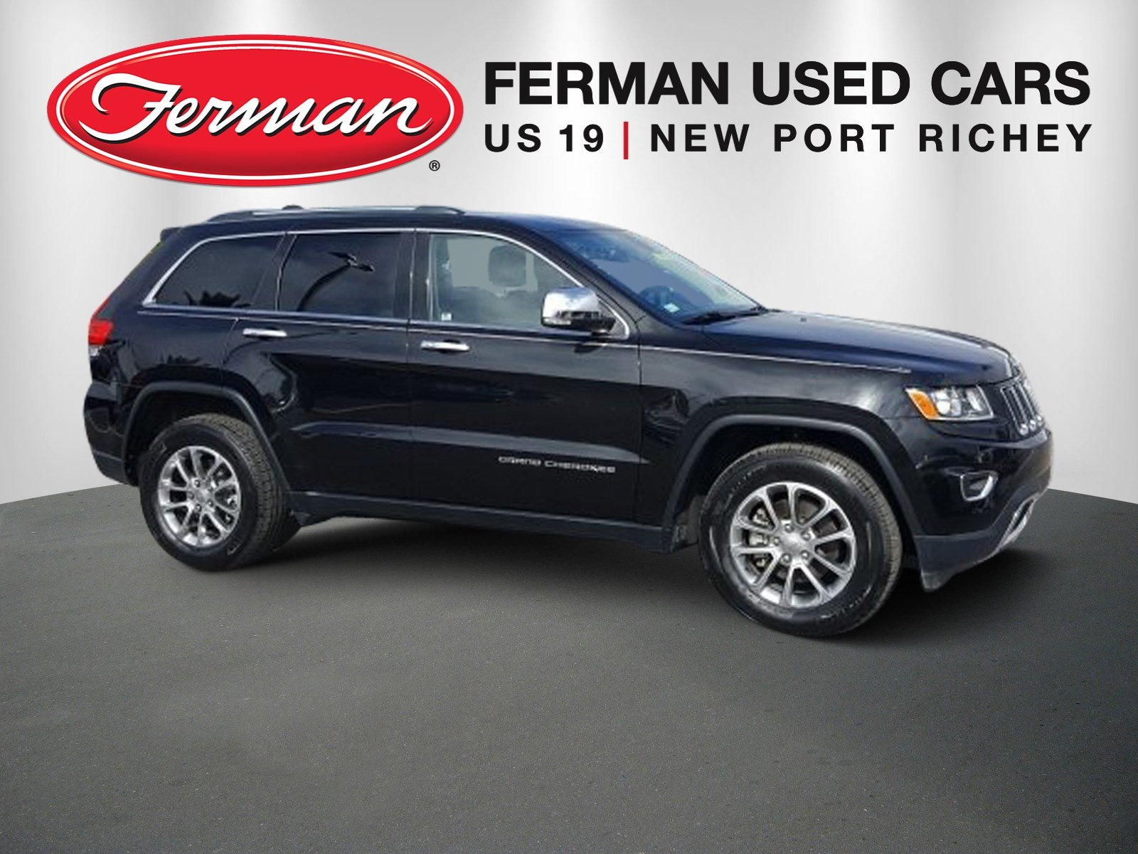 Photo 2015 Jeep Grand Cherokee Limited 4x2 SUV in New Port Richey, FL