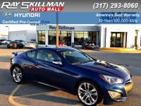 Certified Pre-Owned 2015 Hyundai Genesis Coupe 3.8L ULTIMATE RWD Coupe