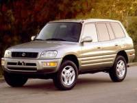 1999 Toyota RAV4 Base SUV Front-wheel Drive 4-door