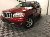 Used 2004 Jeep Grand Cherokee Limited V8 4WD LOADED