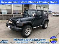 Pre-Owned 2007 Jeep Wrangler X 4WD 2D Sport Utility