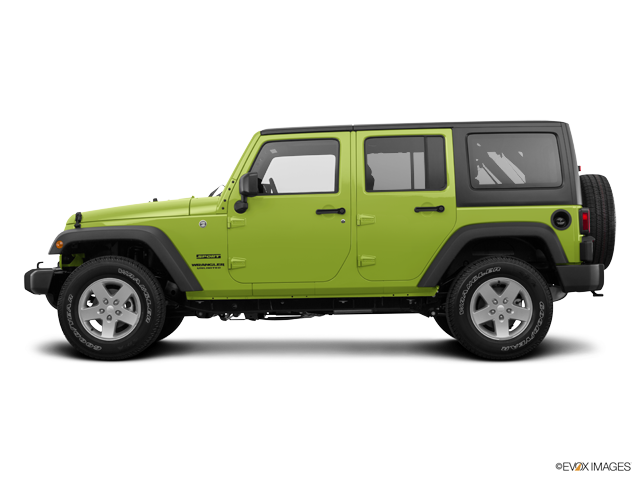 Photo Used 2017 Jeep Wrangler Unlimited Unlimited Sport SUV