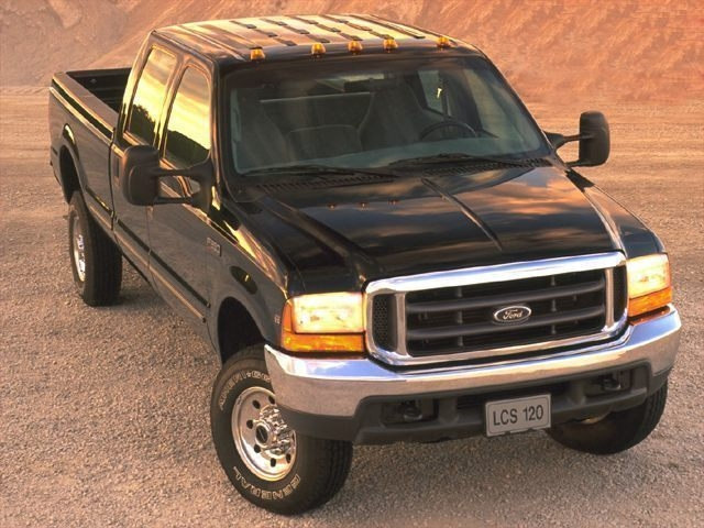 Photo Used 2000 Ford F-250 Truck Crew Cab Dealer Near Fort Worth TX