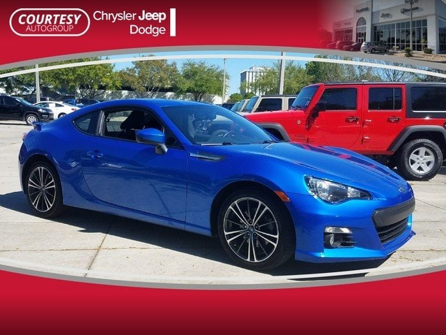 Photo Pre-Owned 2014 Subaru BRZ Limited Coupe in Jacksonville FL