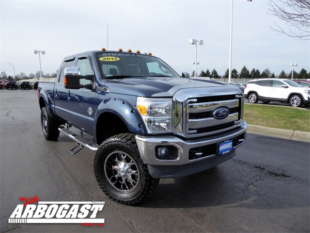 Photo Pre-Owned 2013 Ford F-350SD Lariat Rocky Ridge Lifted Truck 4WD