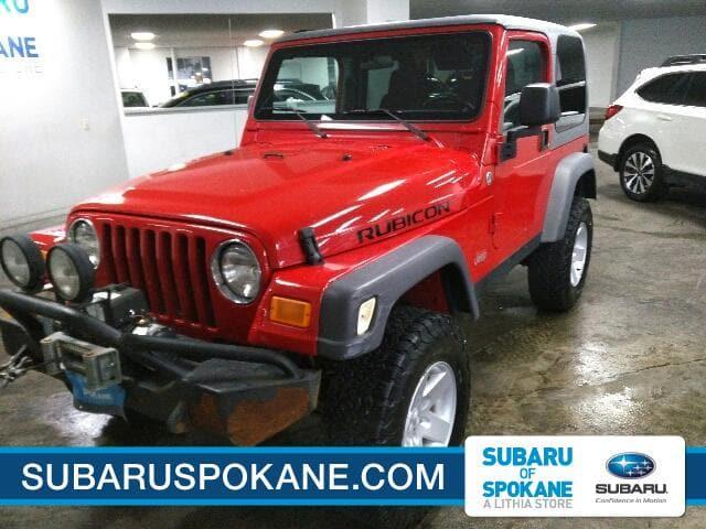 Photo Used 2005 Jeep Wrangler Rubicon in Spokane