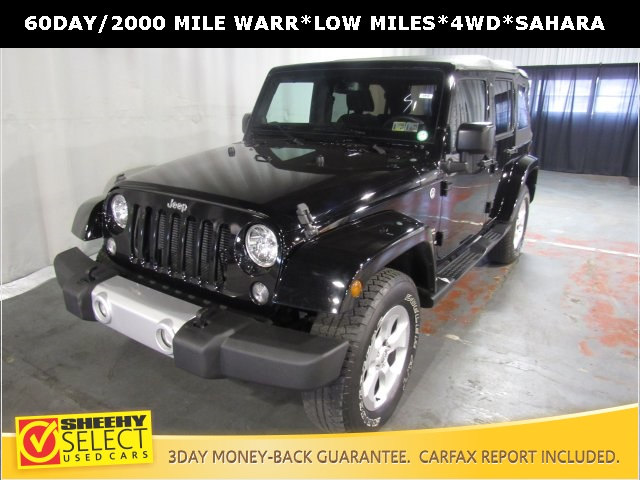 Photo Used 2014 Jeep Wrangler Unlimited Unlimited Sahara SUV in White Marsh, MD